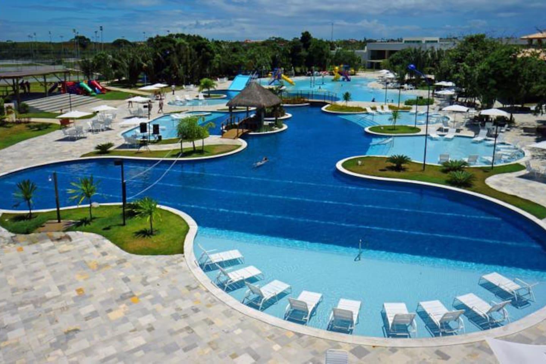 Visão geral das 02 piscinas