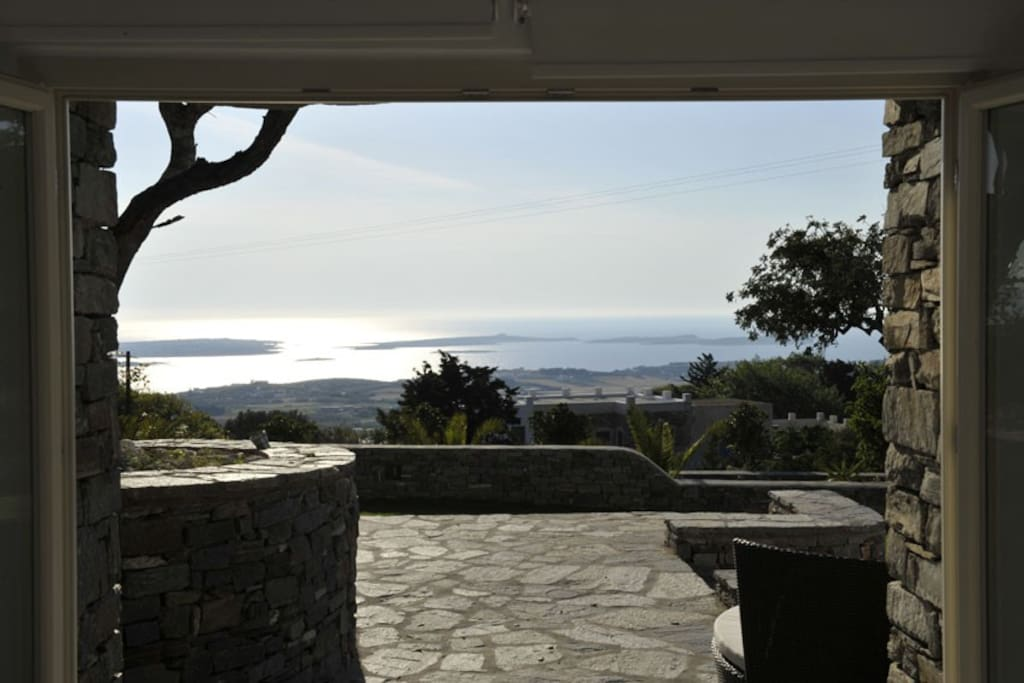 The unobstructed seaview from Villa-Studio 8