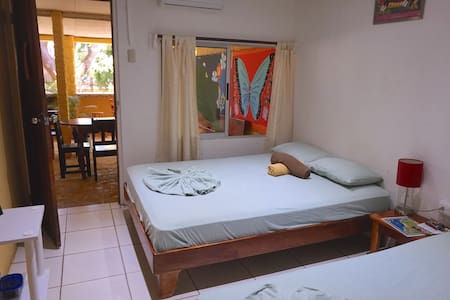 Private Room 1-2 pers Note: depending of booking one of these rooms will be reserved for you