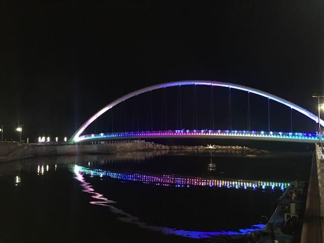 오션뷰 옥상, 테이블 - 강문민박 101호 -경포 옆 강문해변 50m