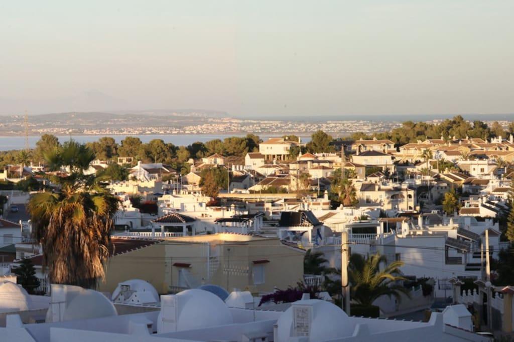 View from solarium.