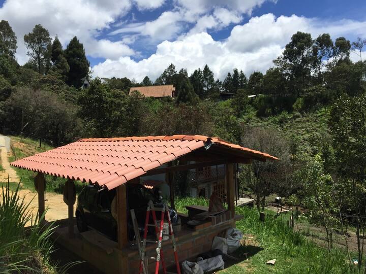 Cabaña en Santa Elena-Medellín-Antioquia-Colombia