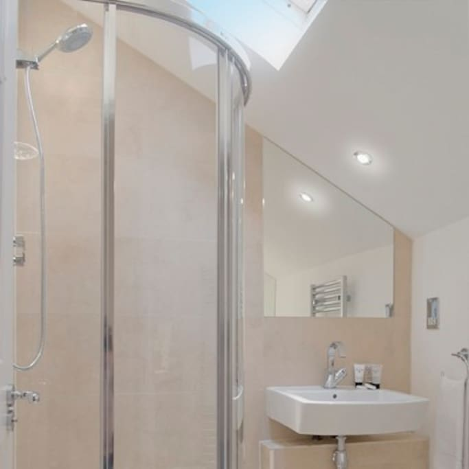 Modern shower room