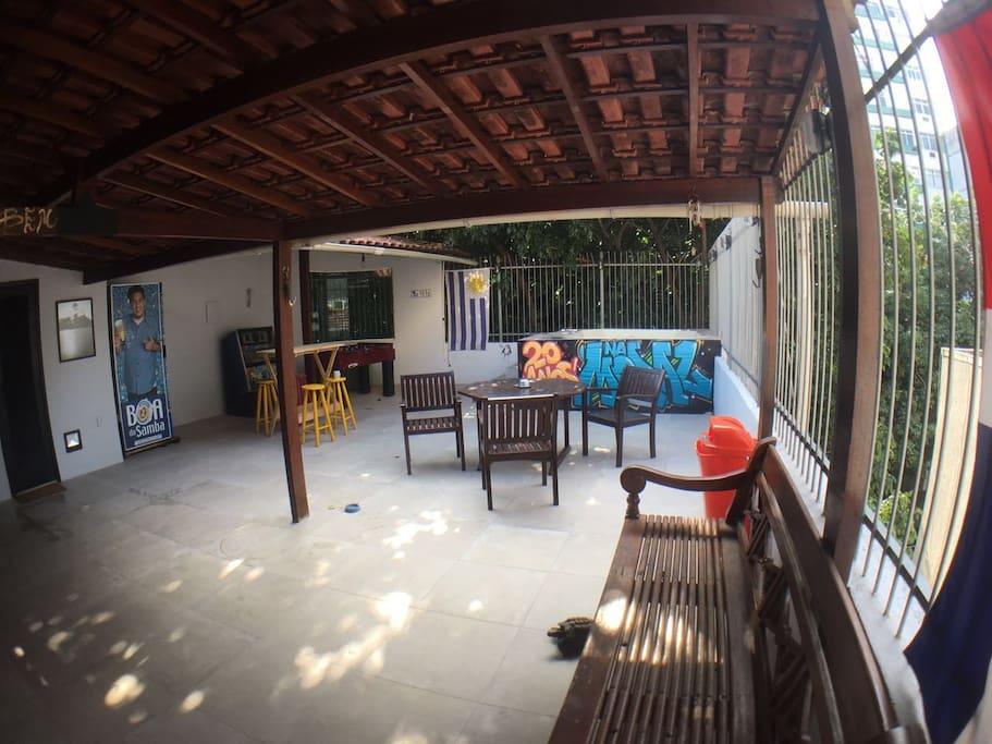 Area externa do apartamento