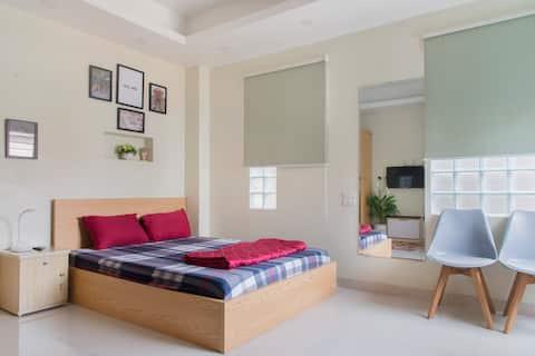 MAI HOME Cozy,new Studio Apt, central Hanoi #208