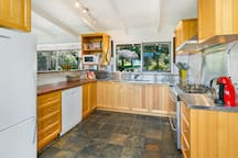 Well appointed Kitchen with modern appliances and a automated Coffee Machine.