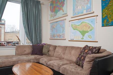 Wicker Park|Private Room|Near Train - Chicago - Apartment