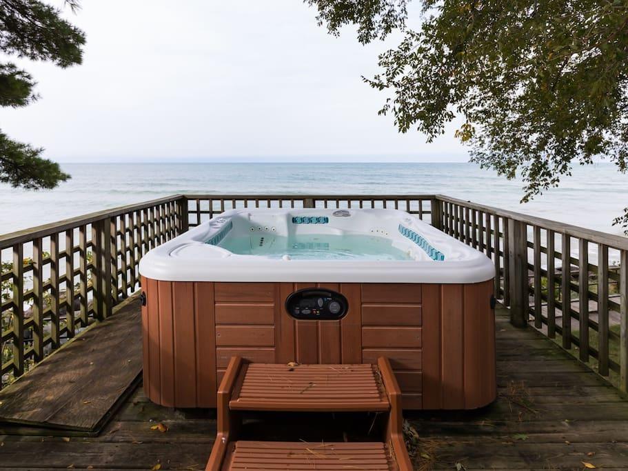 Lakefront Hot Tub