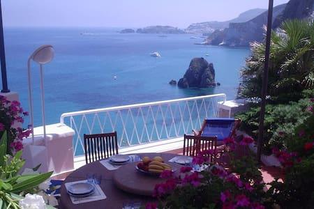 Splendida villa a Ponza sul mare - ポンツァ諸島