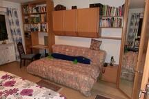 Zimmer mit 2 Betten, 10 min vom Hbf