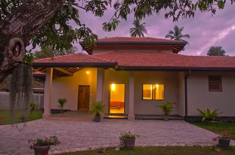 brand new 4 BR house / leafy garden