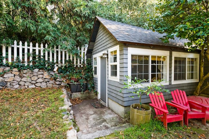 Private 1BR/1BA Backyard Cottage