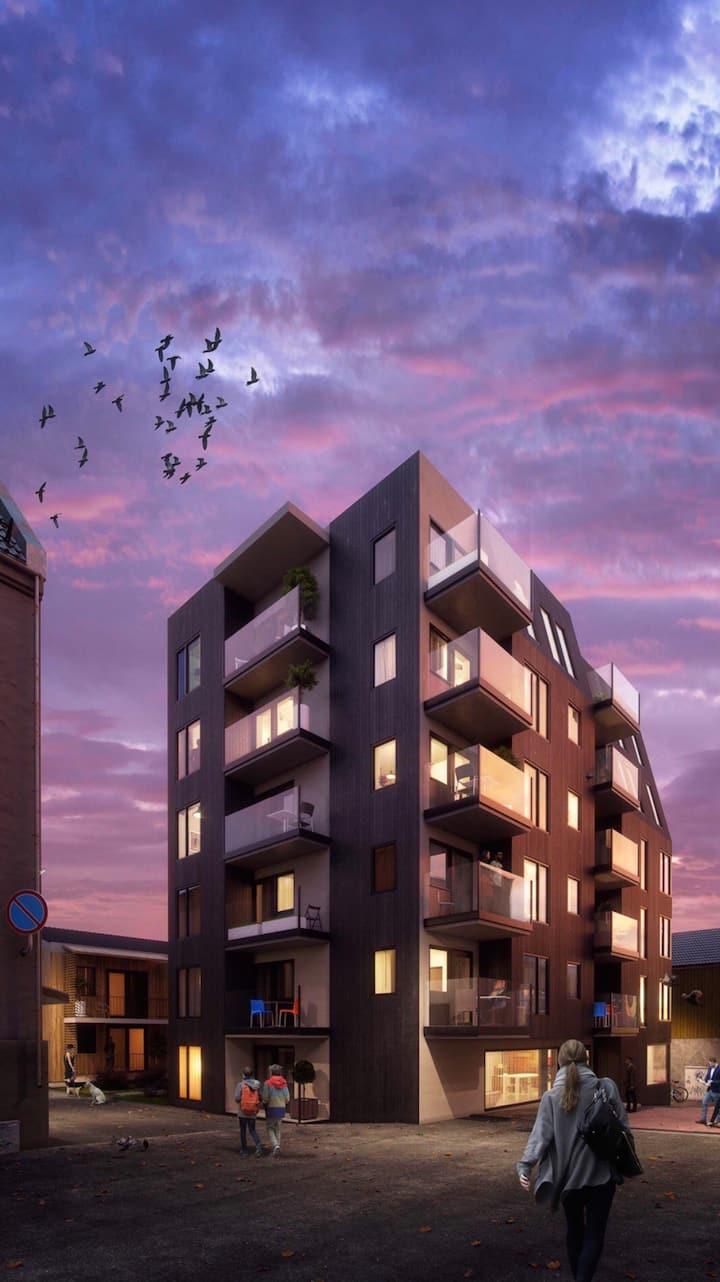 Ny og moderne leilighet midt i Tromsø sentrum