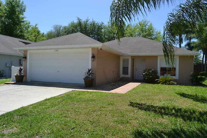 Enjoy this comfortable home just minutes from the Orlando area parks