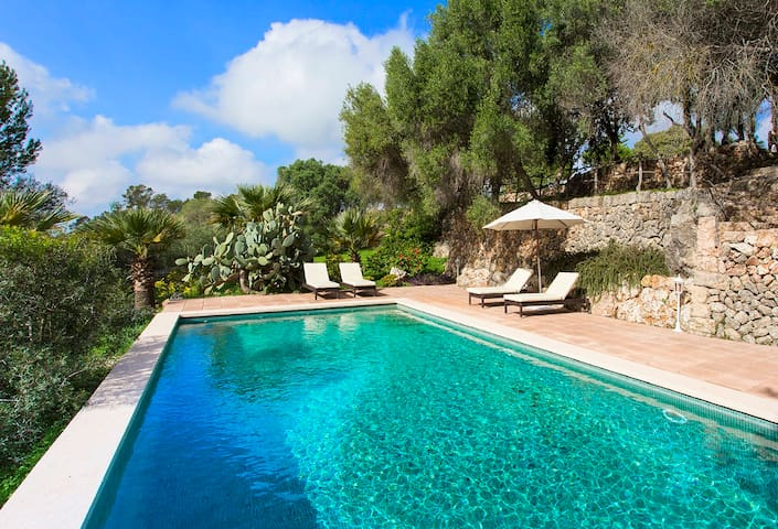Rustic country house with pool near Santa Maria - Santa Maria del Camí - Villa