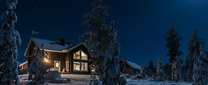 Ecofriendly chalet in Yllas Lapland