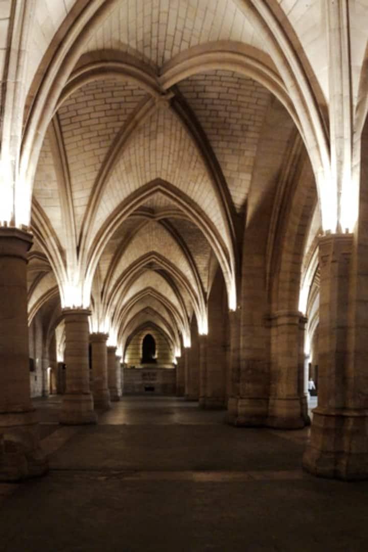 Medieval guardroom