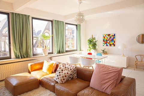 Vintage-design apartment in the best area in town