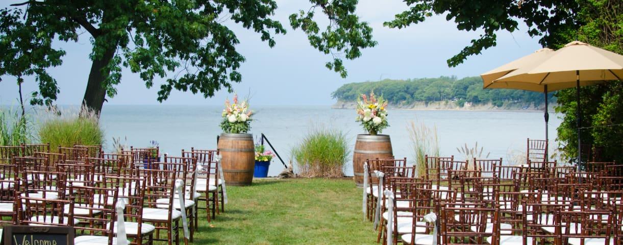 Lake Erie Wedding (The Mansion on Lake Erie)