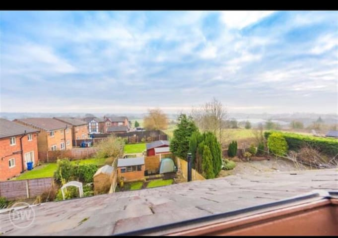 Manchester Home with a view