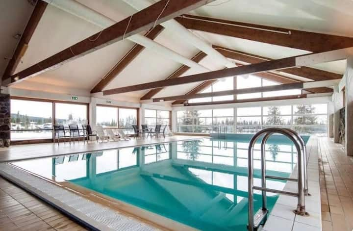 Cozy apartment with a view and pool at Nordseter!