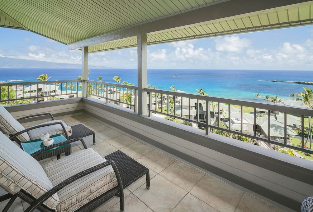 Stunning ocean and island views from one of the most ideal locations at The Ridge