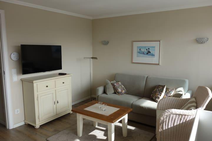 Gemuetliche Ferienwohnung strandnah - 韋斯特蘭 - 公寓