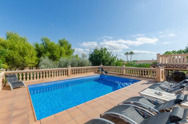 VILLA GARBALLÓ - Villa with private pool in Marratxi. Free WiFi