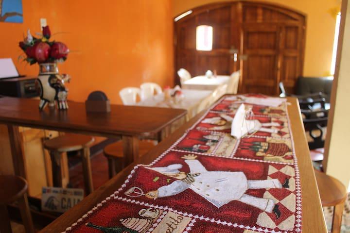 Habitación doble dos camas con ventilador