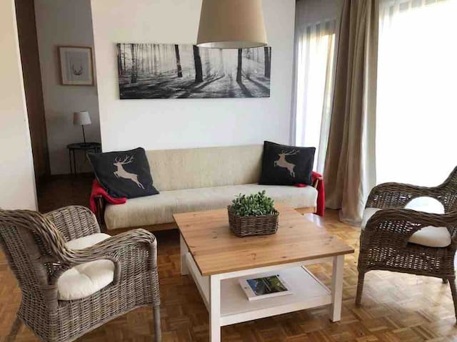 Lake house - Apartment with private beach (4 p)