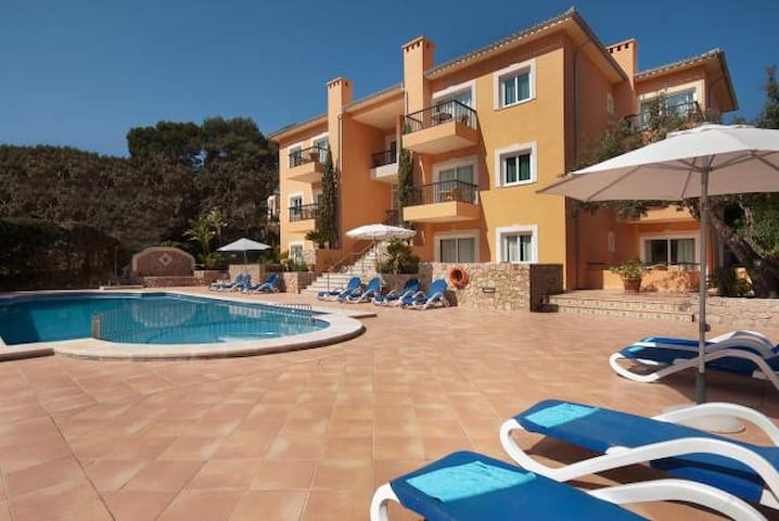 Pool apartment in Cala S Vicente, 533 - Cala Sant Vicenç - Appartement