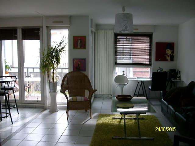 Grand 3 pièces prox centre-ville - Strasbourg - Apartment