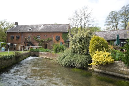Alderholt Mill a working water mill - Dorset