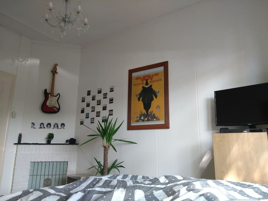 Bedroom from bed