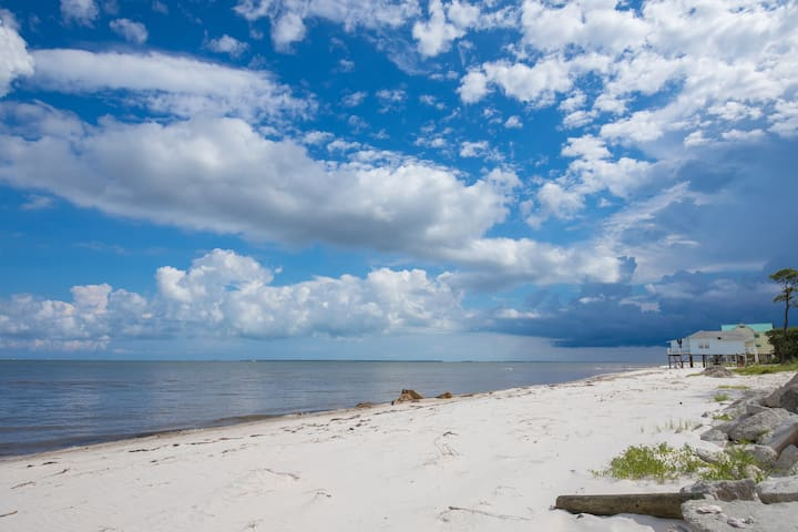 Blue Seahorse Beach of Carrabelle FL/Pet friendly