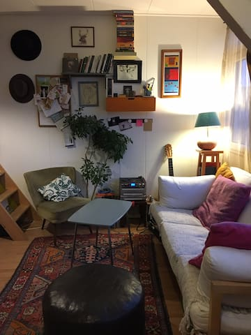 Compact studio with a terrace