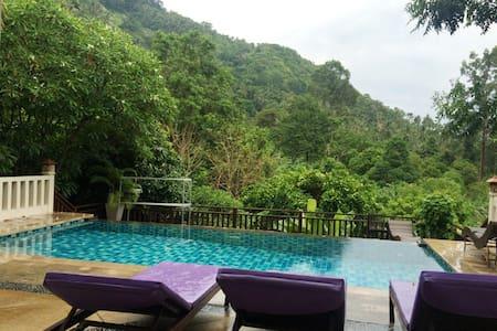 4 bedroom with private pool lamai - Bo Phut