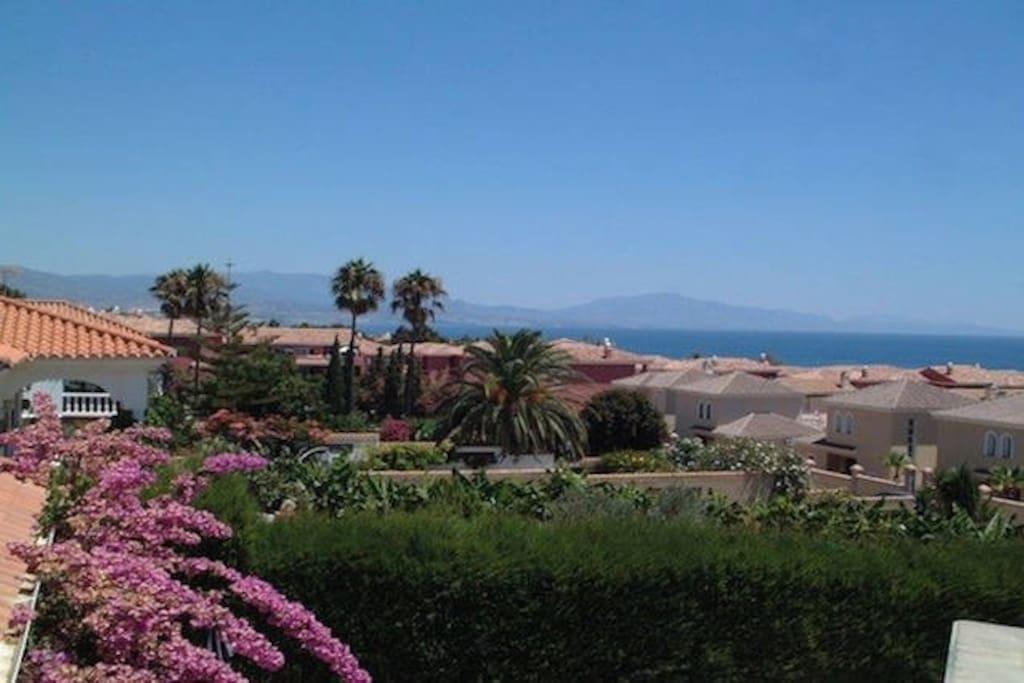 View from Villa Garden.