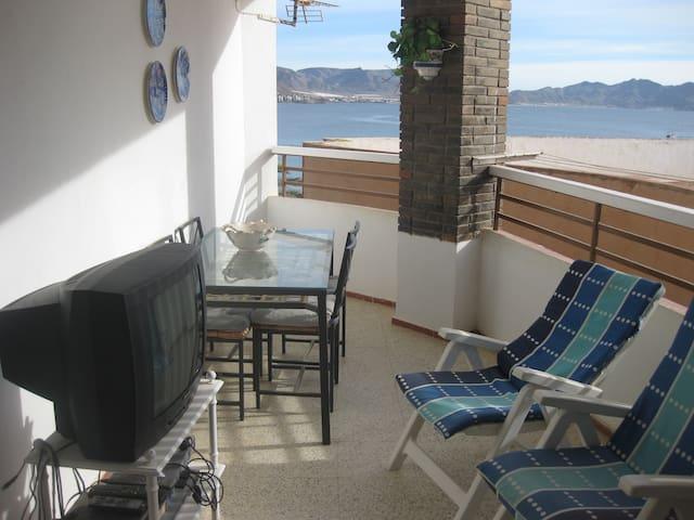 piso en primera linea de playa - Puerto de Mazarrón - Casa