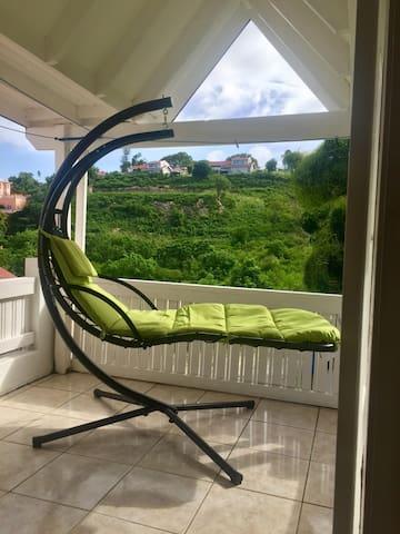 Green wiev room with big terrace+AC+breakfast