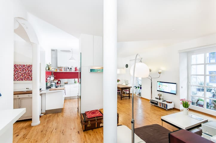 Design family home near Marienplatz + Oktoberfest - München - Apartment