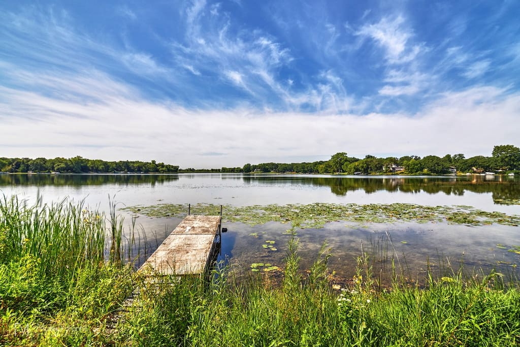 Your dock to lake.   Fish, boat, ski, or walk to beach?