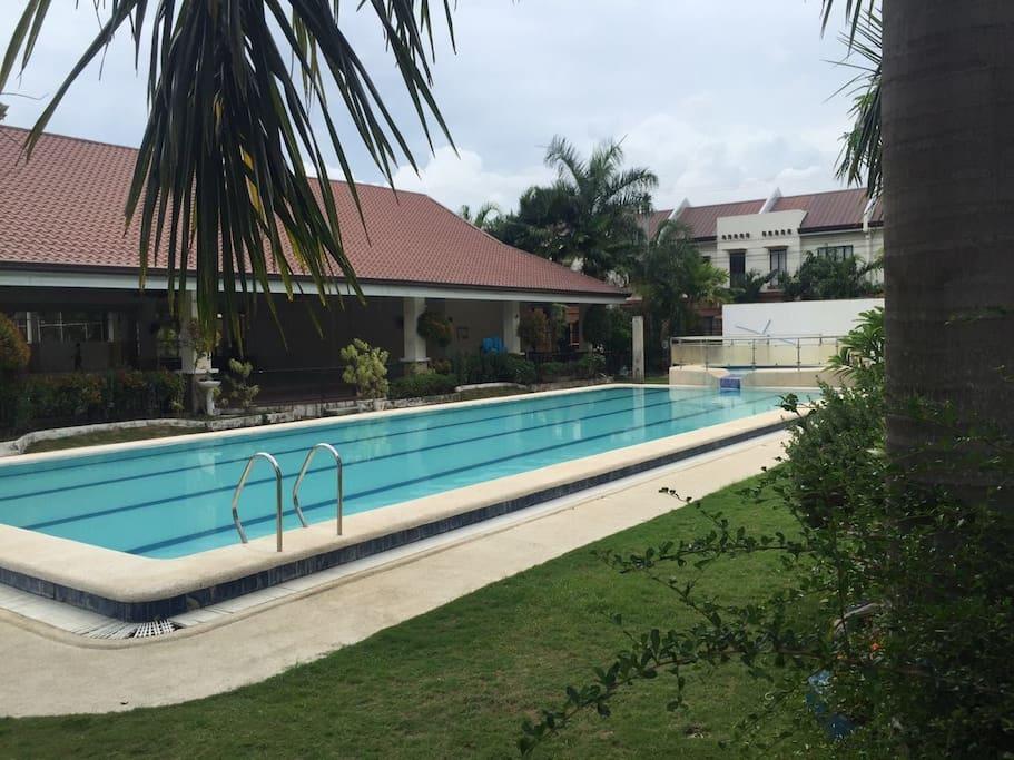 游泳池,免费的
