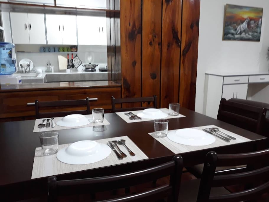 Dining Place with kitchen