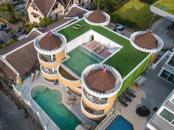 Exclusive Castle with two pools+gym+cinema Patong