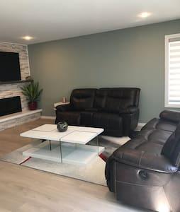 Modern and clean  Beautiful serene house