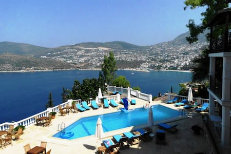 Lovely sea view apartment No. 21 - Kalkan