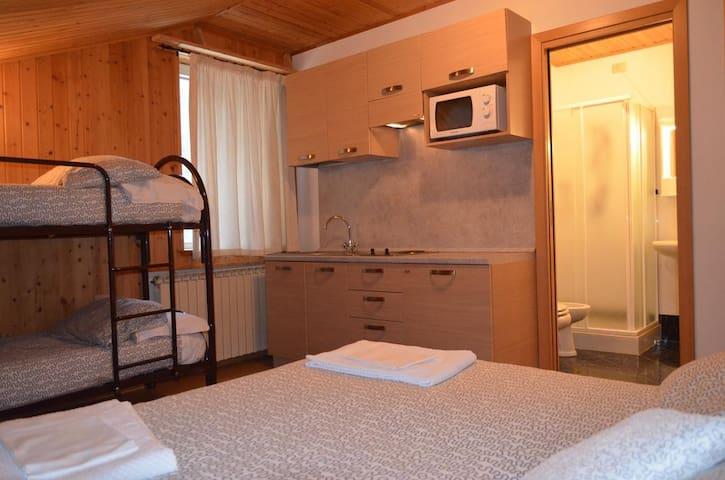 Campodolcino Camping - Large Studio