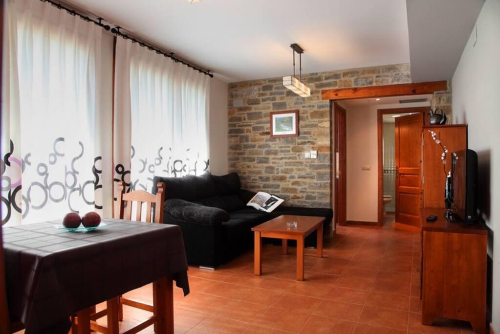 Salón del apartamento La Solana