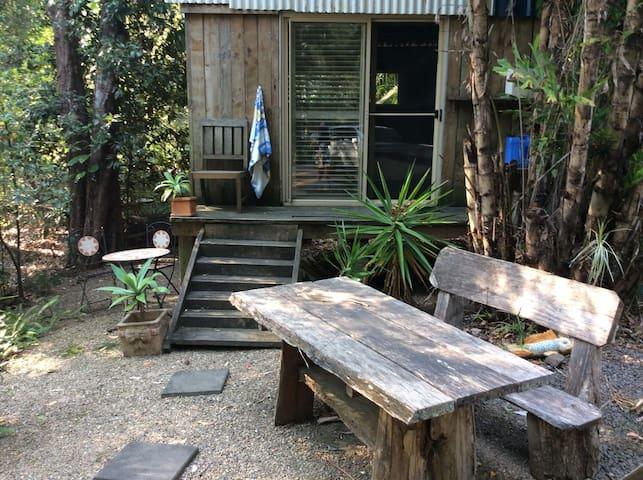 Private Rainforest Retreat Cabin on acreage Noosa